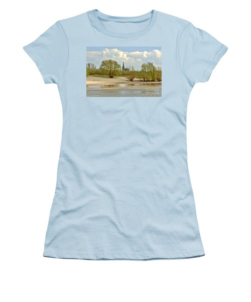 Sunday On The Rhine Women's T-Shirt (Athletic Fit)