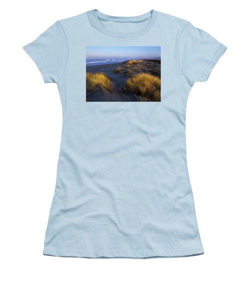 Sunlight On The Beach Grass Women's T-Shirt (Athletic Fit)