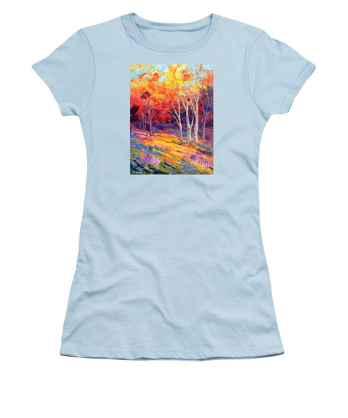 Sunlit Shadows Women's T-Shirt (Athletic Fit)