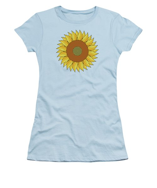 Sunny Day Women's T-Shirt (Junior Cut) by Absentis Designs