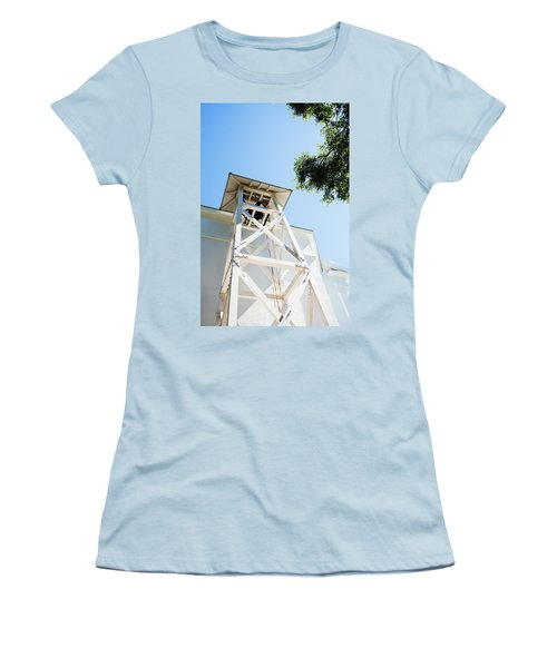 Women's T-Shirt (Junior Cut) featuring the photograph Sunny Game Day In Athens by Parker Cunningham