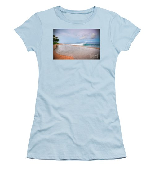 Women's T-Shirt (Junior Cut) featuring the photograph Sunrise Break by Kelly Wade