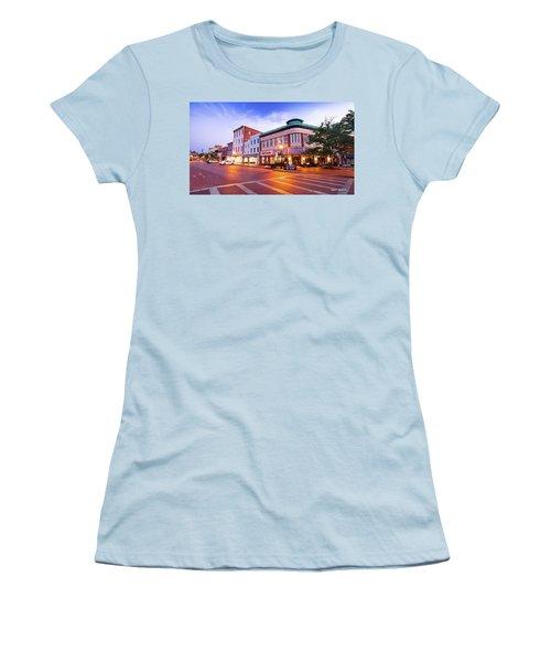Sunrise In Annapolis Women's T-Shirt (Athletic Fit)