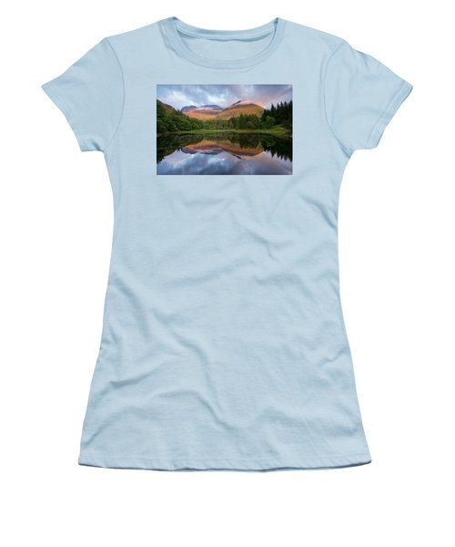 Sunset At Torren Lochan Women's T-Shirt (Athletic Fit)