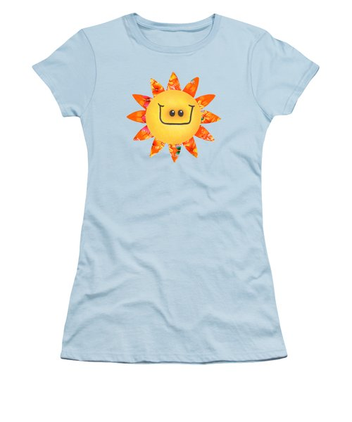 Sunshine Daisy Women's T-Shirt (Athletic Fit)