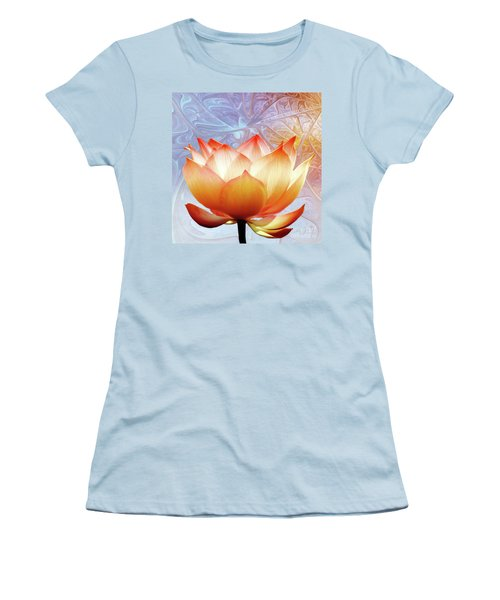 Sunshine Lotus Women's T-Shirt (Athletic Fit)