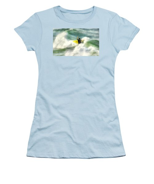 Surfer 76 Women's T-Shirt (Junior Cut) by Francesa Miller