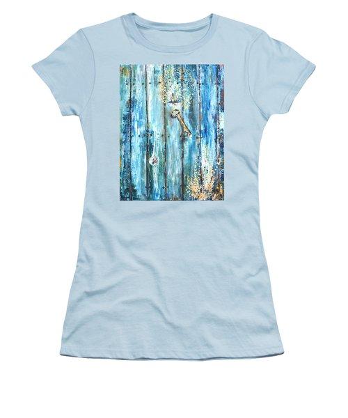 Surviving Time Women's T-Shirt (Junior Cut) by Evelina Popilian