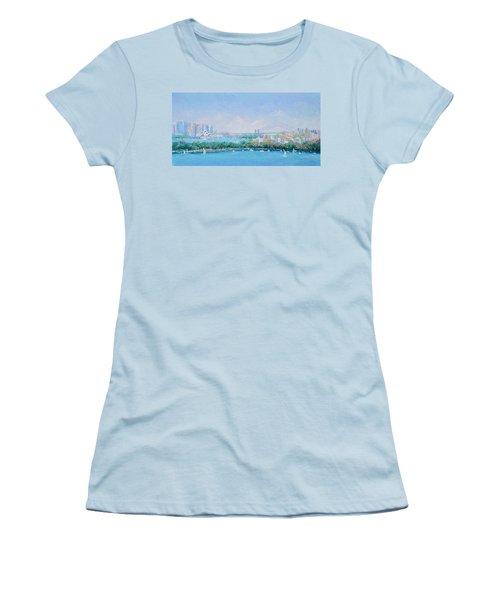 Sydney Harbour Bridge - Sydney Opera House - Sydney Harbour Women's T-Shirt (Junior Cut) by Jan Matson