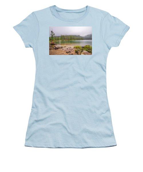 Taggert Lake Grand Teton Women's T-Shirt (Athletic Fit)