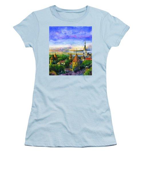 Tallinn Estonia Women's T-Shirt (Athletic Fit)