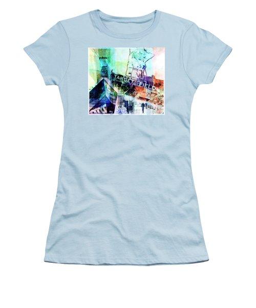 Target Field Us Bank Staduim  Women's T-Shirt (Athletic Fit)