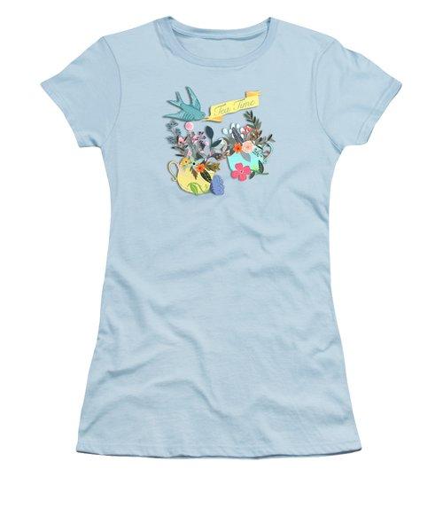 Tea For Two Women's T-Shirt (Junior Cut)