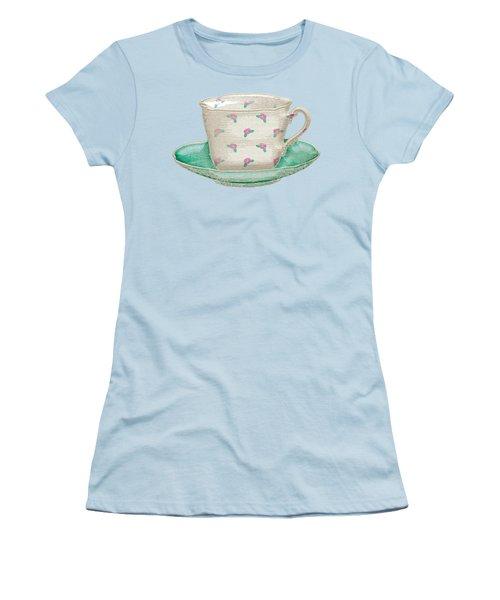 Teacup Garden Party 2 Women's T-Shirt (Junior Cut)