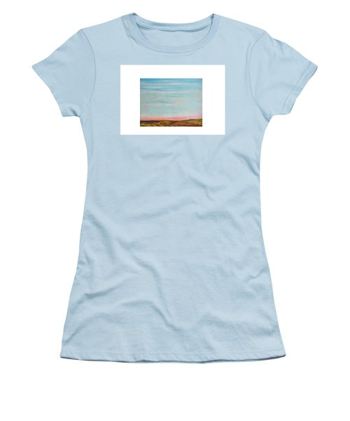 Terraced By Nature Women's T-Shirt (Athletic Fit)