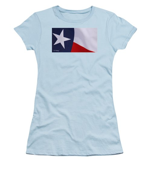 Texas Star Women's T-Shirt (Athletic Fit)