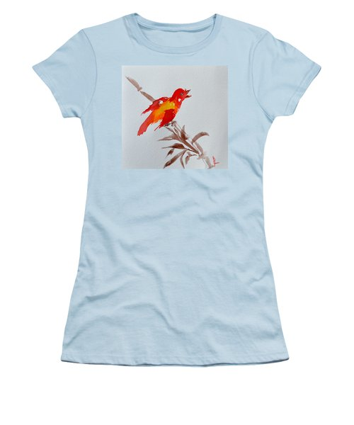 Thank You Bird Women's T-Shirt (Athletic Fit)