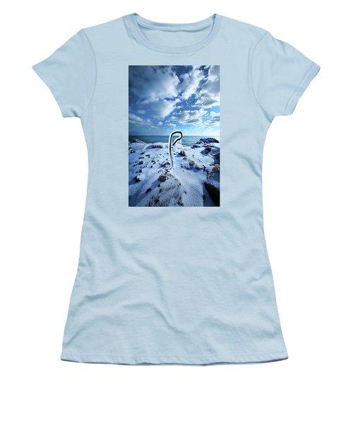 Women's T-Shirt (Junior Cut) featuring the photograph That One Weird Thing by Phil Koch