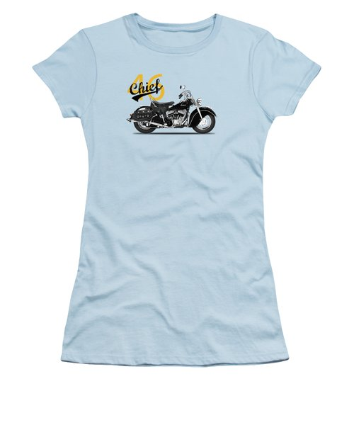 The 1946 Chief Women's T-Shirt (Junior Cut) by Mark Rogan