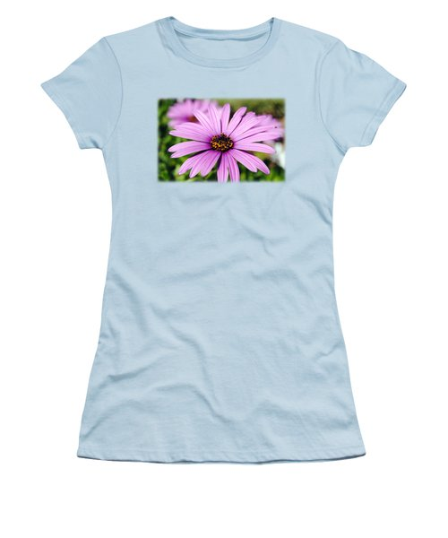 The African Daisy T-shirt 1 Women's T-Shirt (Junior Cut) by Isam Awad