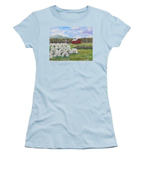 The Apple Farm Women's T-Shirt (Athletic Fit)