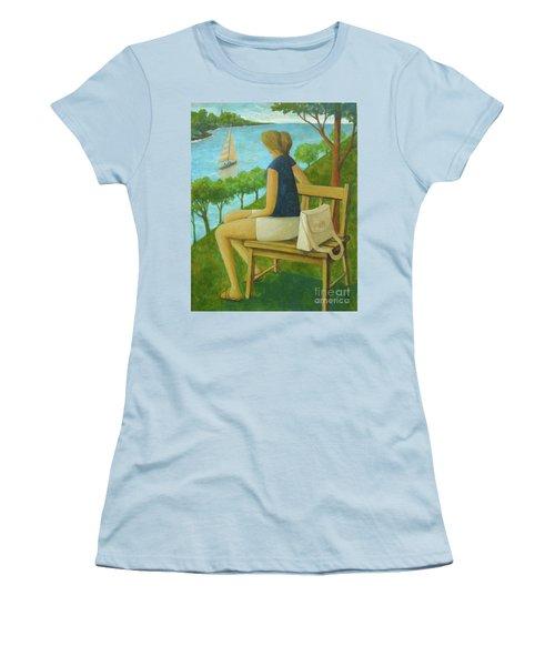 The Bluff Women's T-Shirt (Junior Cut) by Glenn Quist