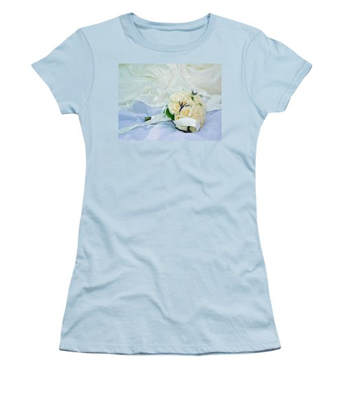 The Bouquet Women's T-Shirt (Junior Cut) by Keith Armstrong