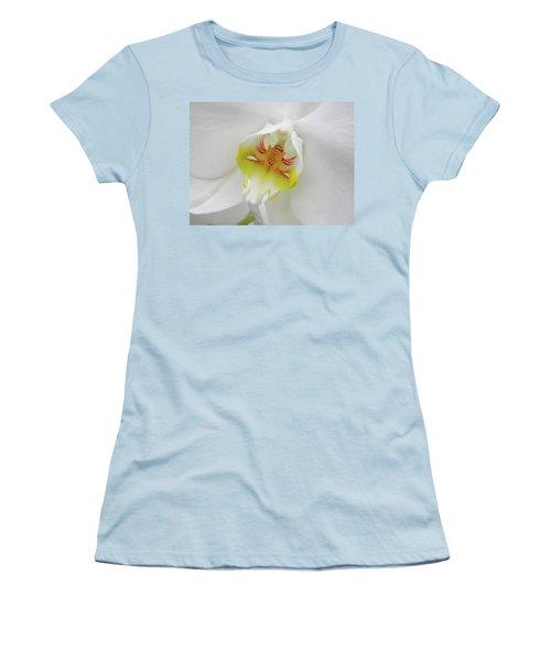 The Cat Side Of An Orchid Women's T-Shirt (Junior Cut) by Manuela Constantin