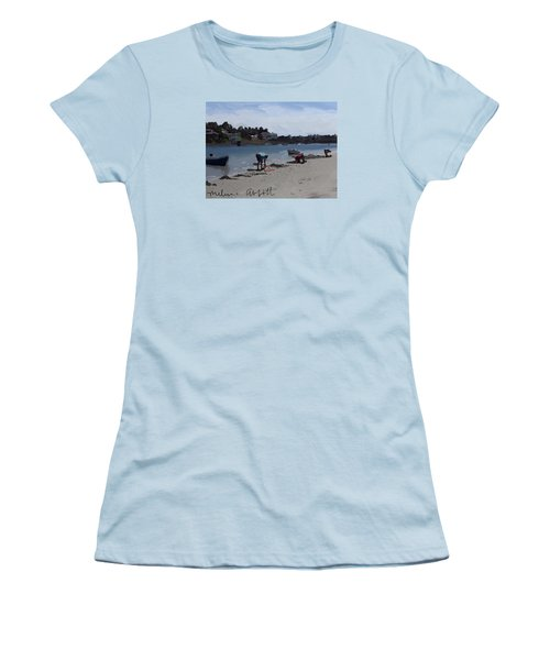 The Clam Diggers - Annisquam River  Women's T-Shirt (Athletic Fit)