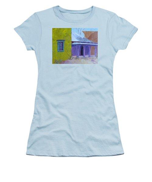The Color Purple Women's T-Shirt (Junior Cut) by Susan Woodward