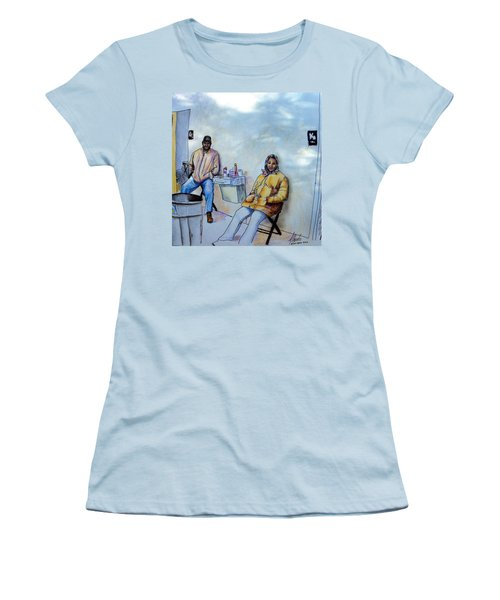 The Custodians Women's T-Shirt (Junior Cut) by Albert Puskaric