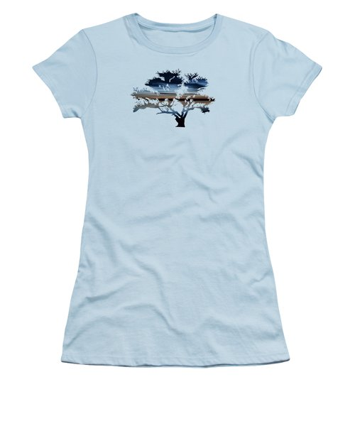 The Dawning Tree Women's T-Shirt (Athletic Fit)