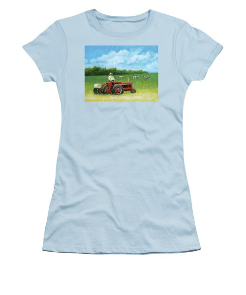 The Farmer Women's T-Shirt (Athletic Fit)