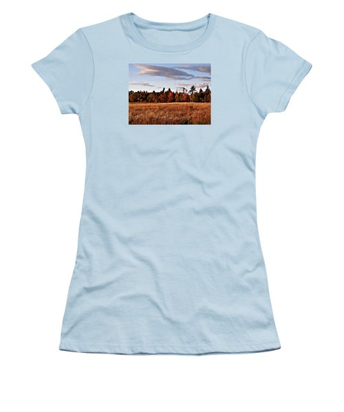 The Field At The Old Farm Women's T-Shirt (Athletic Fit)