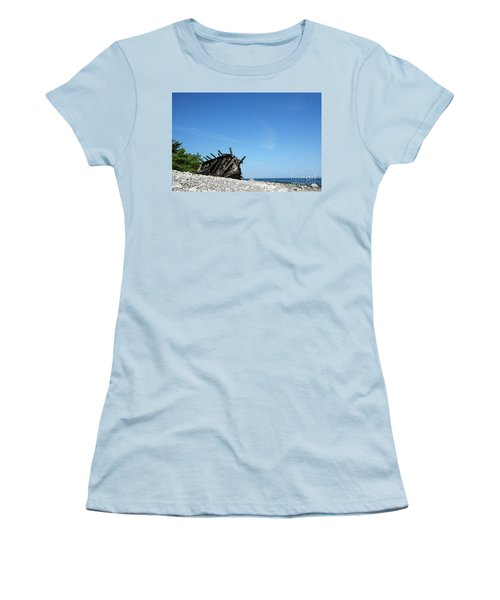Women's T-Shirt (Athletic Fit) featuring the photograph The Final Rest by Kennerth and Birgitta Kullman