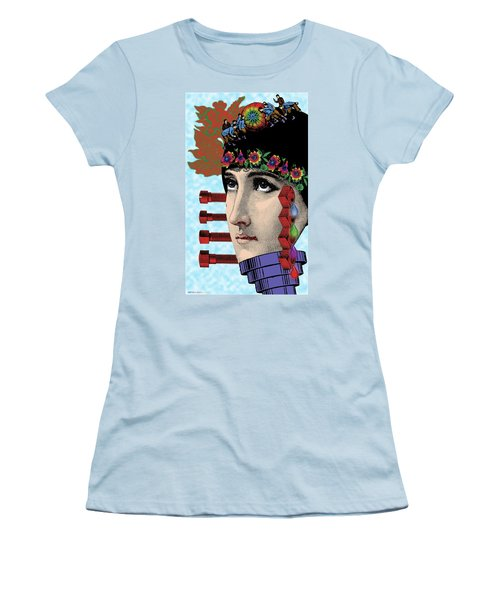 The Flow Of Memory Women's T-Shirt (Junior Cut) by Eric Edelman