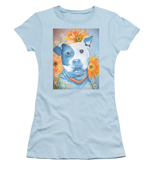 The Flower Pitt Women's T-Shirt (Athletic Fit)
