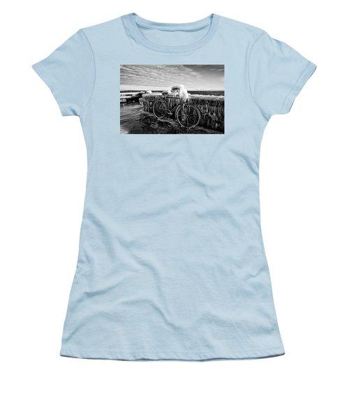 The Frozen Bike Women's T-Shirt (Athletic Fit)