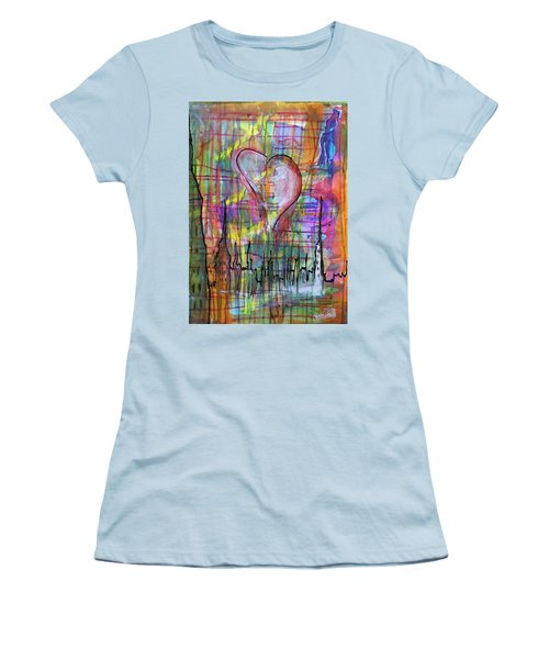 The Heart Of The City Women's T-Shirt (Athletic Fit)