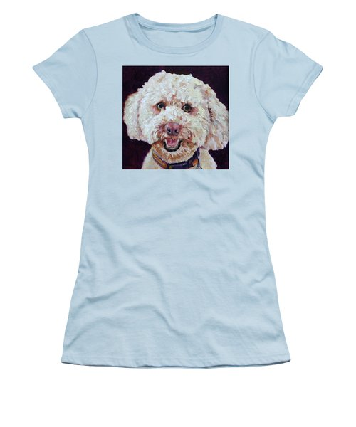 The Labradoodle Women's T-Shirt (Athletic Fit)