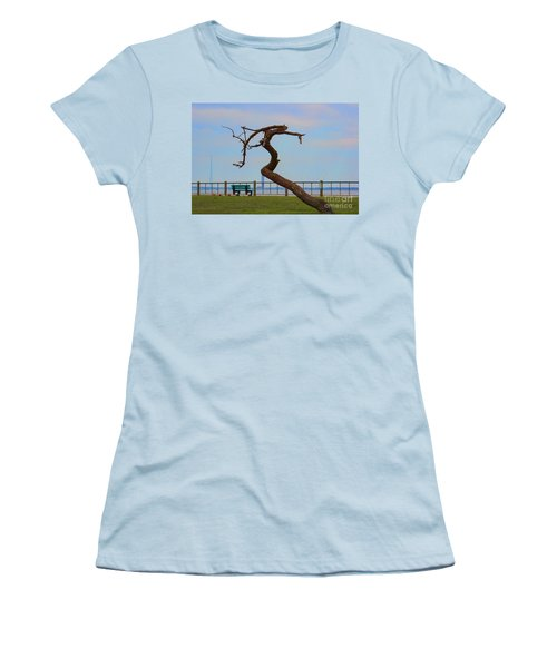 The Lone Tree Women's T-Shirt (Athletic Fit)