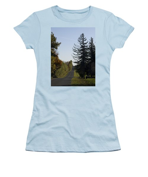 The Long Road Women's T-Shirt (Athletic Fit)