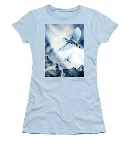 The Magic Of Flight Women's T-Shirt (Athletic Fit)