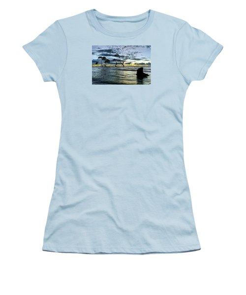 The Mangrove Trees Women's T-Shirt (Junior Cut) by Robert Charity