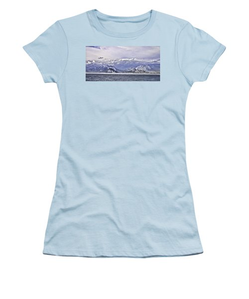 The Mediterranean Coast Women's T-Shirt (Athletic Fit)