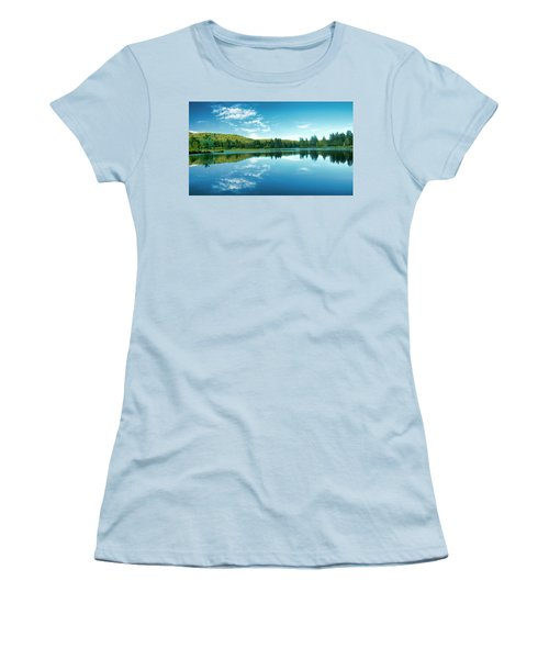 The Mill Pond  Women's T-Shirt (Athletic Fit)