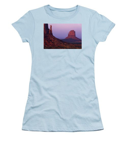 Women's T-Shirt (Junior Cut) featuring the photograph The Mittens by Chad Dutson