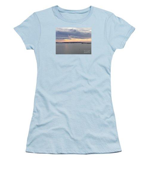 The Opalescent Sunrise Is Unfurled Women's T-Shirt (Junior Cut) by Patricia E Sundik
