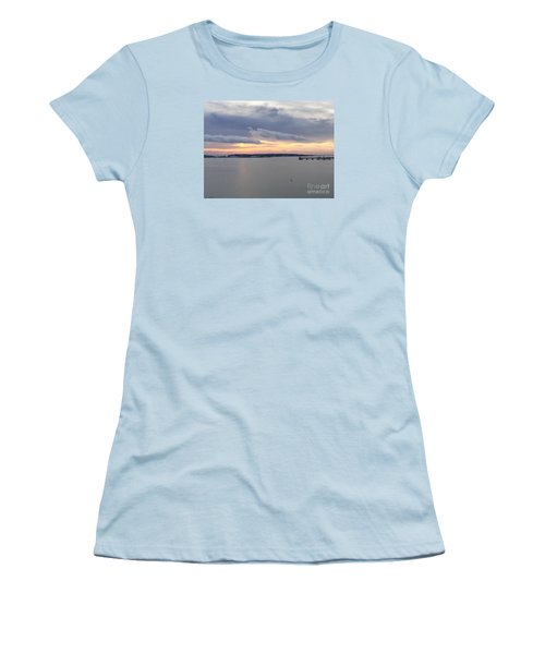 The Opalescent Sunrise Is Unfurled Women's T-Shirt (Junior Cut)