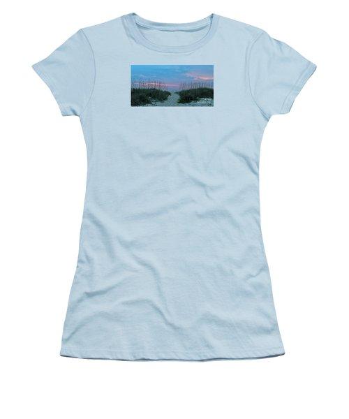 The Path Women's T-Shirt (Junior Cut) by LeeAnn Kendall
